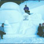 A Davos la statua di ghiaccio del Liceo Artistico Soraperra