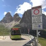 Dolomitesvives, il regolamento per la chiusura del Passo Sella