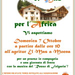 Festa per l'Africa a El Mas di Moena
